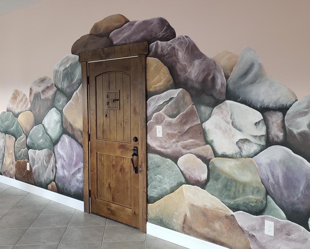Salt Cave door
